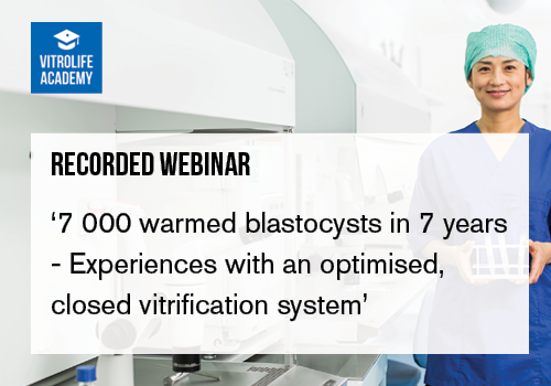 Recorded webinar_Experiences with closed vitr.system