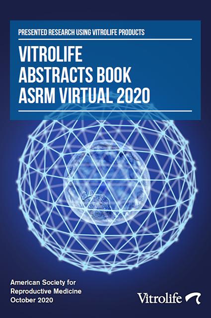 Vitrolife abstract book ASRM 2020